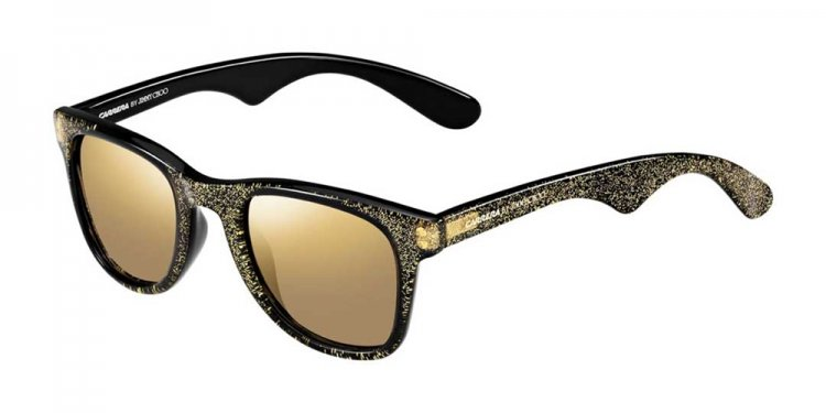 Black Sunglasses with Gold