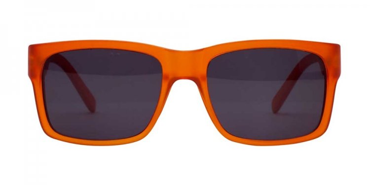 Brown Sunglasses - Orange