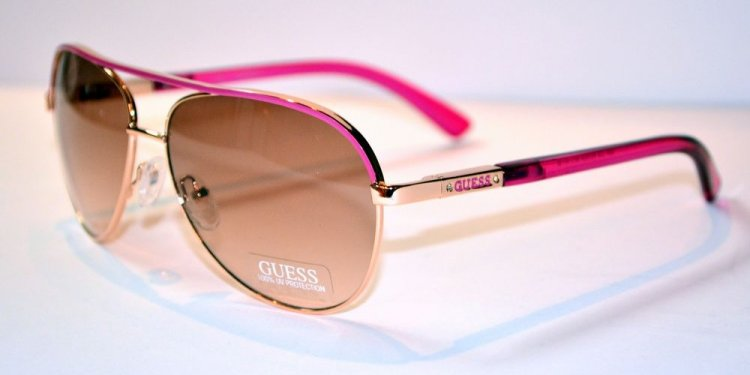 Hot Pink Aviator Sunglasses
